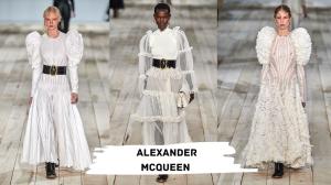 Alexander Mcqueen manches bouffantes