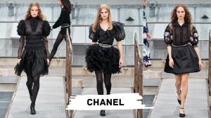 Chanel manches bouffantes
